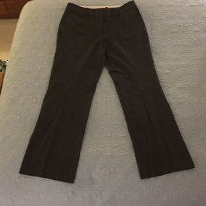 Ann Taylor Charcoal Gray Trouser Pants